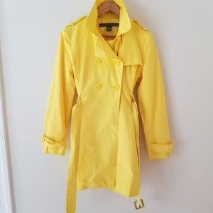 KENNETH COLE REACTION trench raincoat jacket